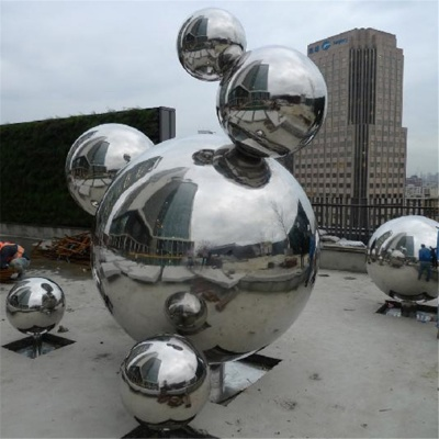 Stainless steel artwork