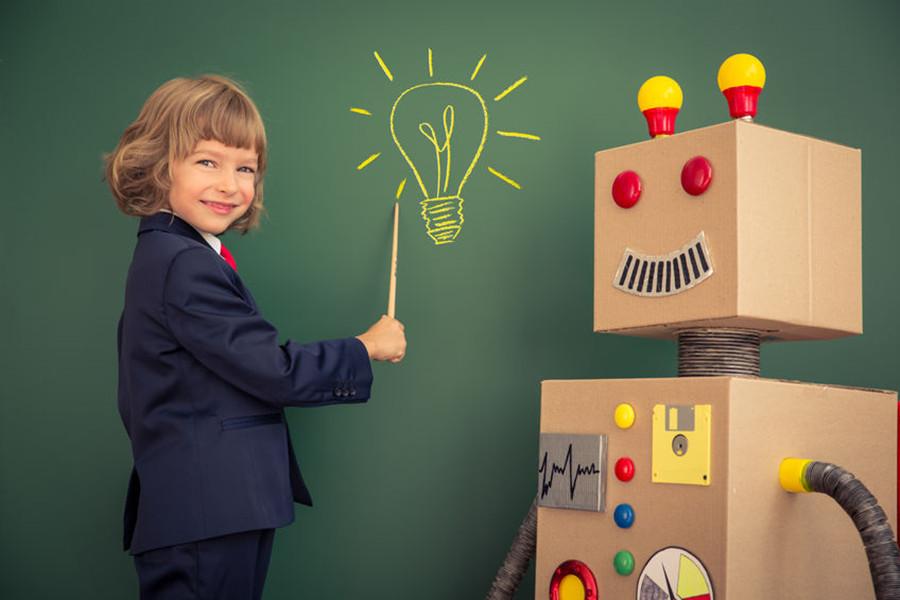 """机器人专业人才缺口超500万人,颠覆""""注入式""""教育"""