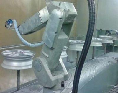 工业机器人喷涂工作站(需配密封及污染处理)