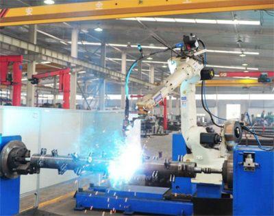 工业机器人氩弧焊工作站(带反转机)
