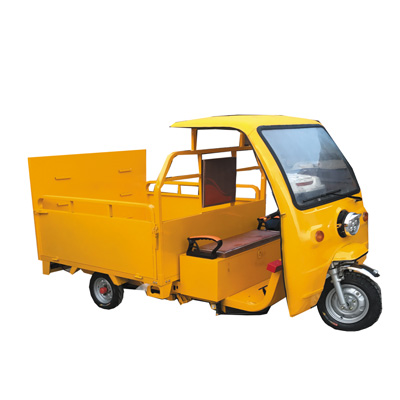 HB-09新款四桶垃圾分类车(可定制六桶)
