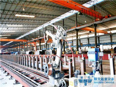 起重机机器人自动焊接系统-松下