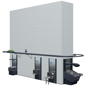 Kardex垂直缓冲式仓储系统