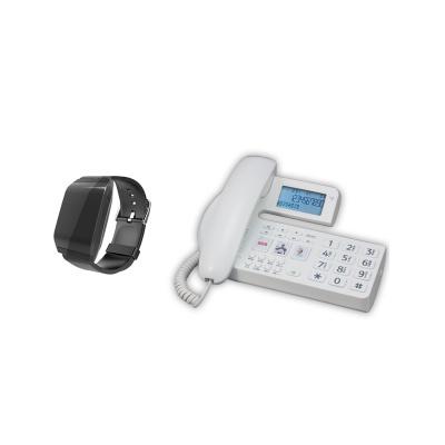 Senior Phone with Wrist Mobility Sensor