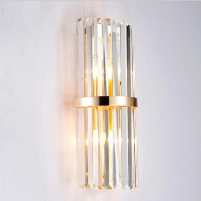 Modern crystal wall lamp outdoor vintage for home