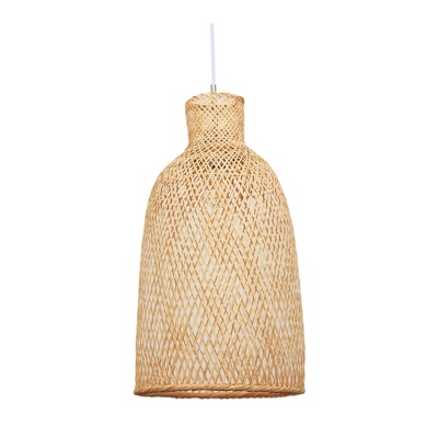 Modern Neutral Bamboo Pendant Lamp for Home Hotel OEM ODM