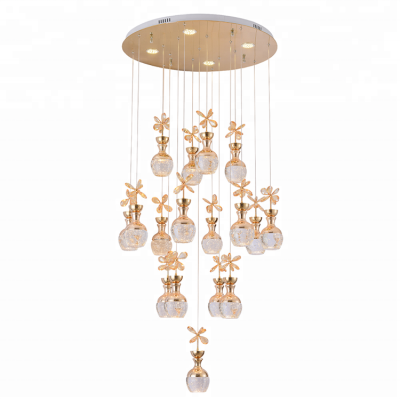 Crystal pendant light Luxury ceiling lighting luxury crystal chandeliers