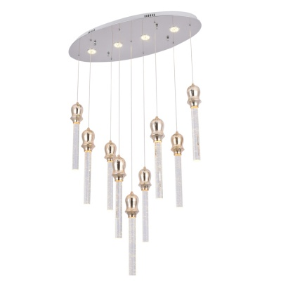 Wholesale bedroom ceiling decorative modern led crystal chandelier pendant light