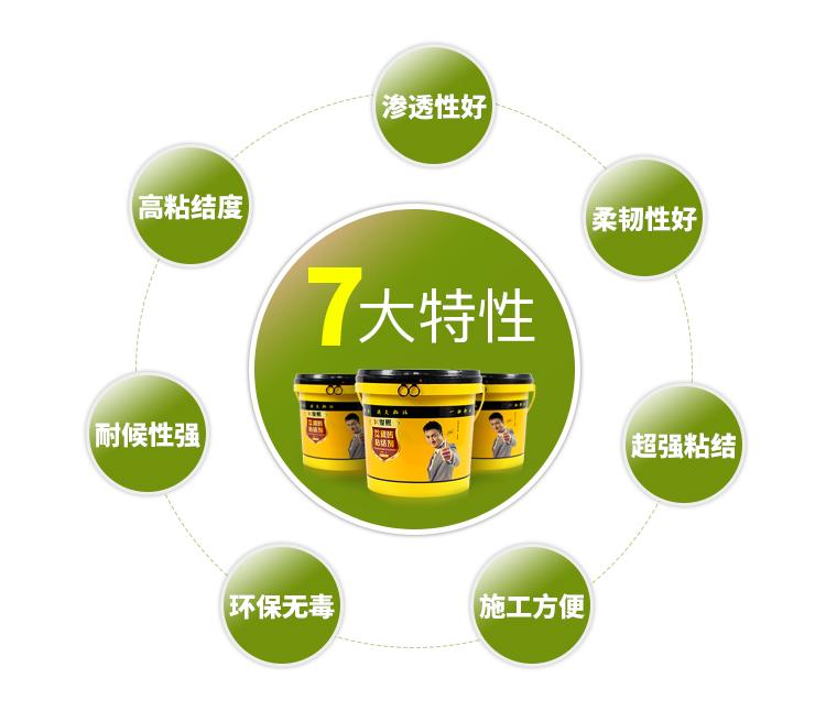俊熙强力瓷砖粘结剂7大特性