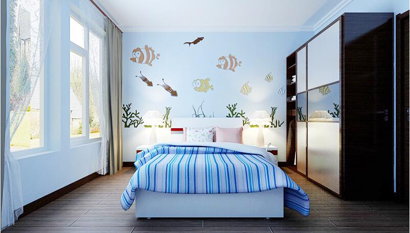 这个是贝壳粉的儿童房图片