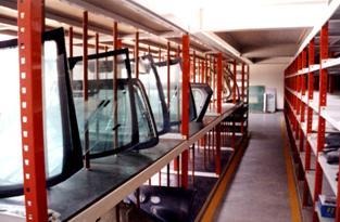 汽車4S店貨架