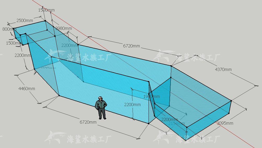 大型鱼缸工程——本色酒吧