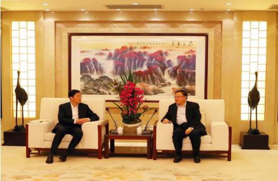 中国有色集团与遂宁市人民政府签署...