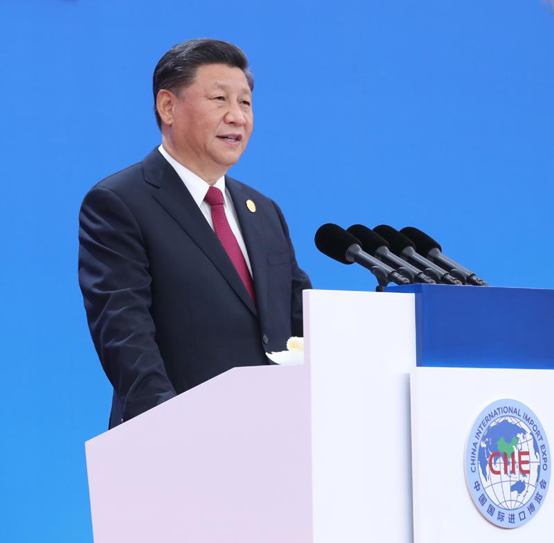 习近平出席第二届中国国际进口博览...