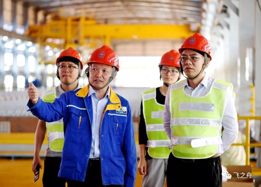 徐元杰参赞到访中国有色集团在刚出...