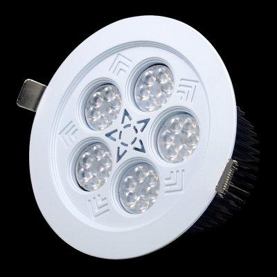 三德士照明 LED珠宝展柜灯具 欧司朗芯片36W珠宝店专用天花灯嵌入钻石柜台眼睛店筒灯