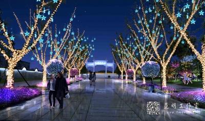 园林景观节日照明设计