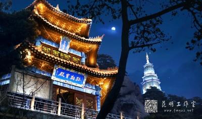 古建筑古楼门楼照明设计夜景效果图