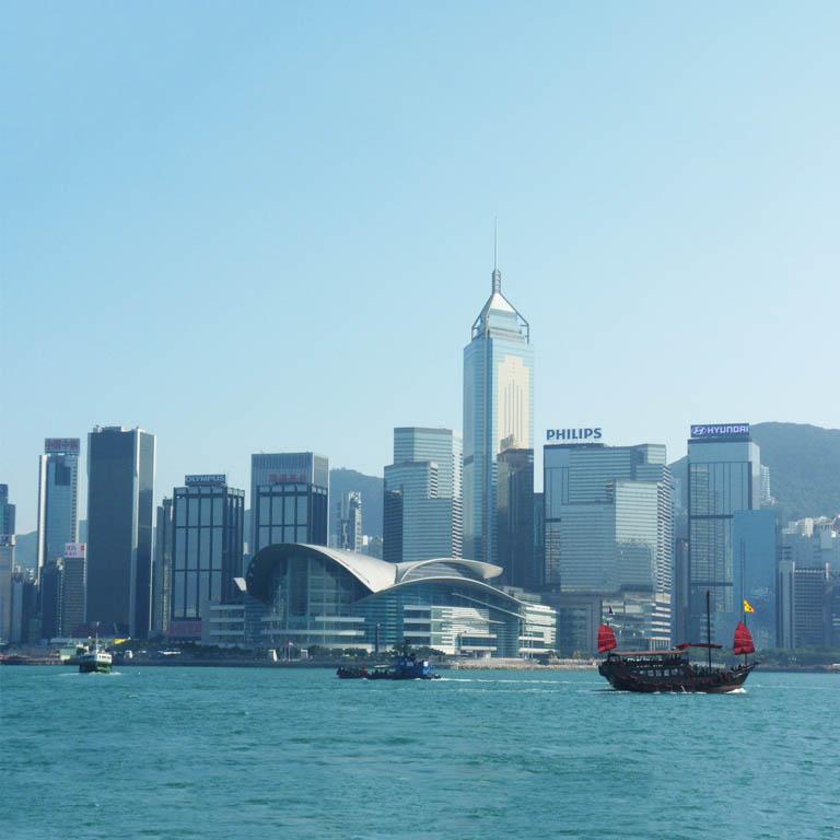 香港島灣仔的秋季香港禮品展一期...