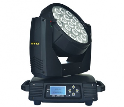 GTD-LMZ1519 LED搖頭染色燈