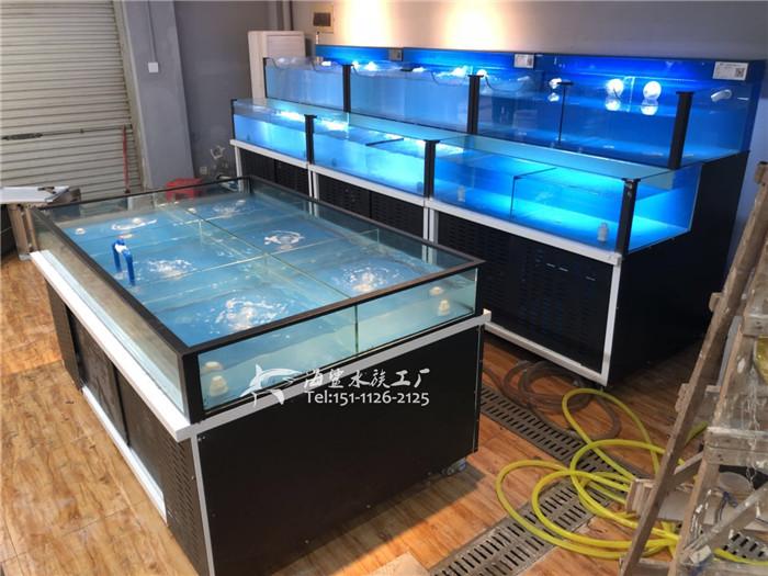 超市海鲜池中的增氧设备介绍