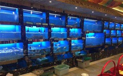 长沙生鲜店海鲜池
