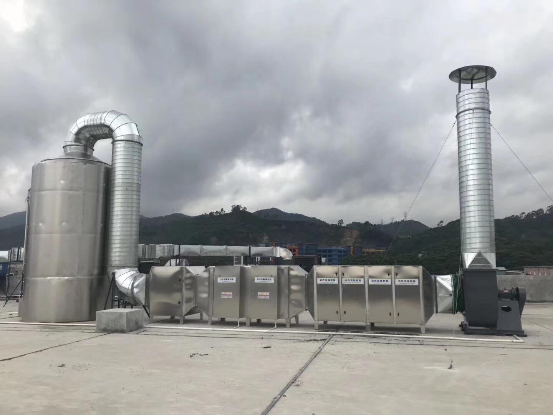 東莞塘夏廢氣處理工程