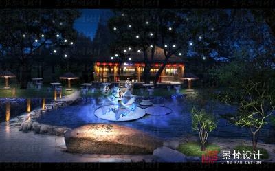 游园节日创意夜景设计