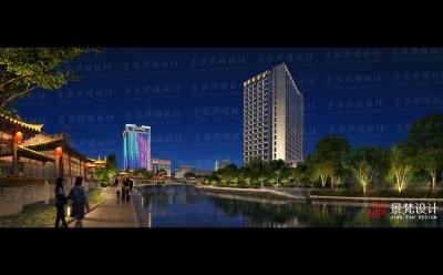 城市亮化设计长卷景观照明设计