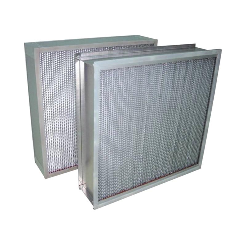 HEPA BOX use DOP Liquid groove filters better seal HEPA filter