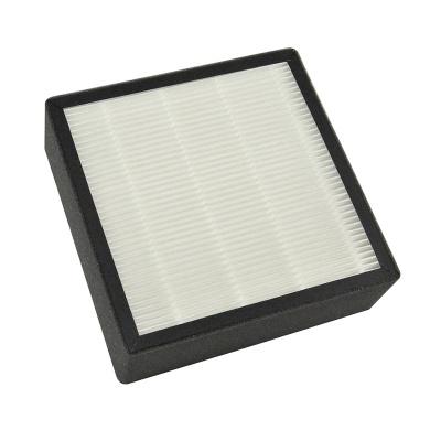 No clapboard fiberglass, PP, PET composite HEPA ,ULPA filter for air purifier