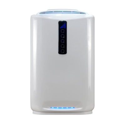 Good Appearance with bactericidal lamp 2019 new style 4 levels air control smart room air purifier