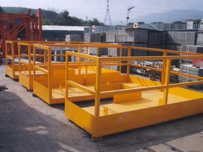 柱頭籠台架 Structure Platform