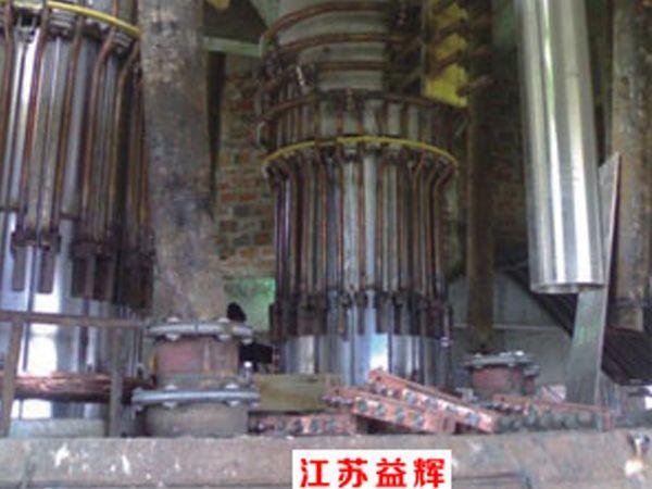 密闭组合式把持器矿热炉安装现场