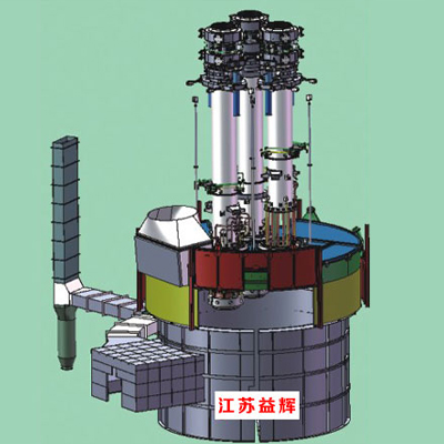 带电渐进式下放电极系统矿热炉