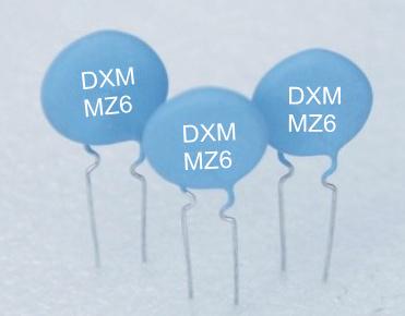 Encased type PTC thermistor for Motor starting MZ62 series