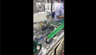 雄创自动化4轴水平机器人产品自动组装案例