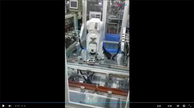 雄创自动化六关节机器人自动上下料案例2