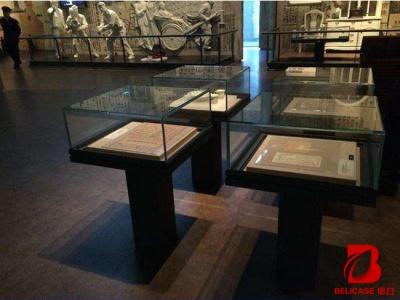 博物馆桌柜M025