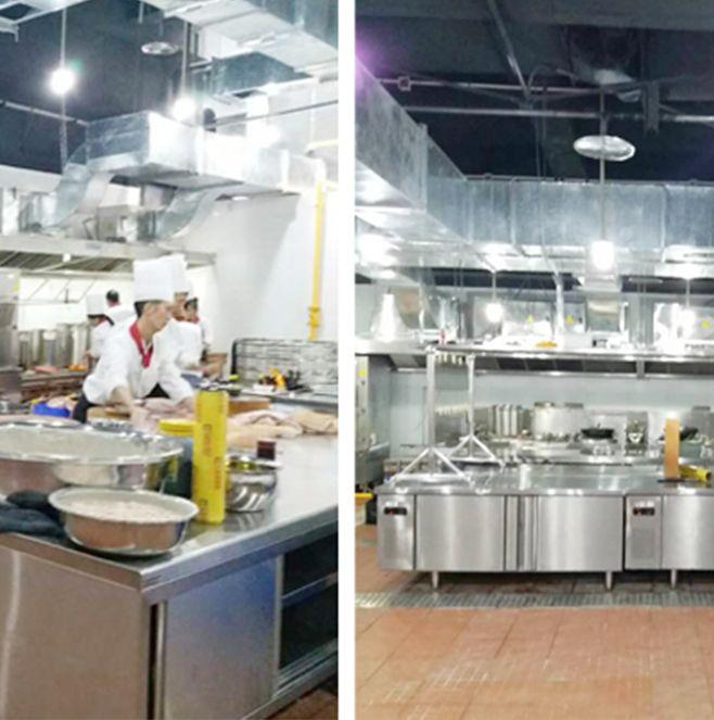 达州腾达酒店不锈钢厨房设备工程项目
