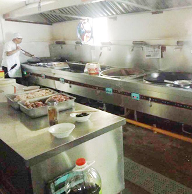 乐山外国语小学学校食堂厨房设备工程项目