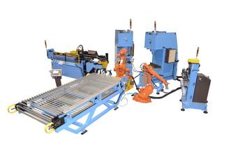 公司年生产数控机械设备200台(...