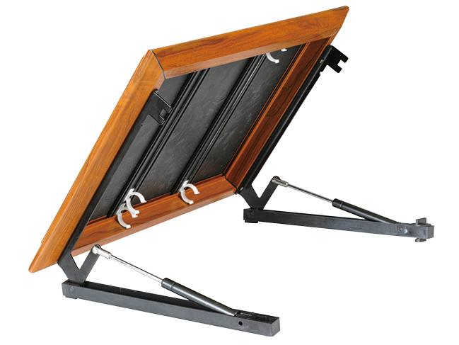 森森小款灯盘-不锈钢支架