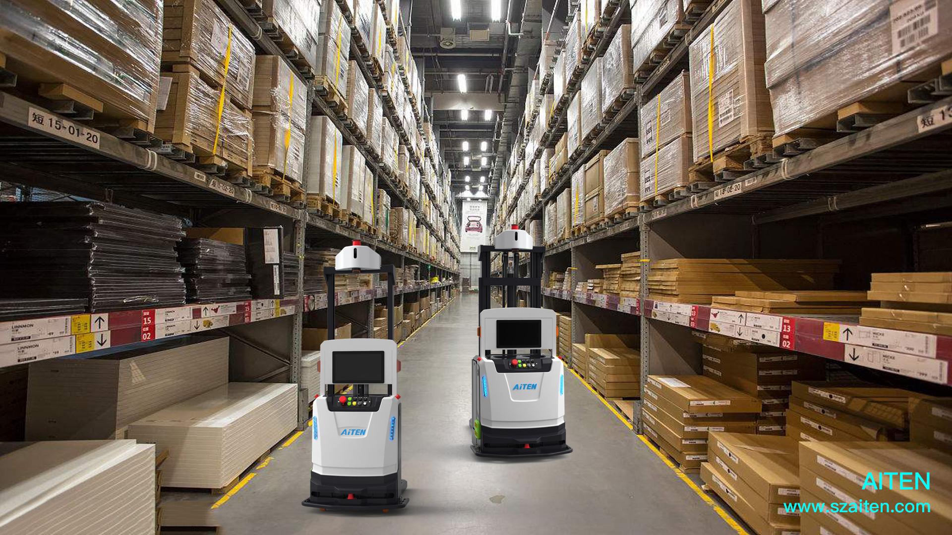 随着智能化转型加速,AGV机器人自身特性将更上一层楼