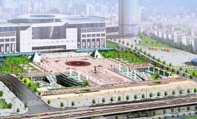 武汉国际会展中心钢结构工程