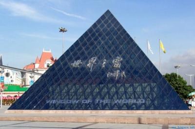 深圳世界之窗金字塔网架工程