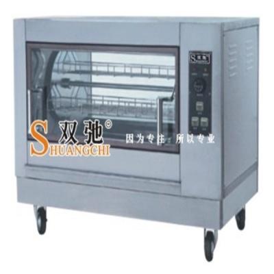 旋转式电烧烤炉