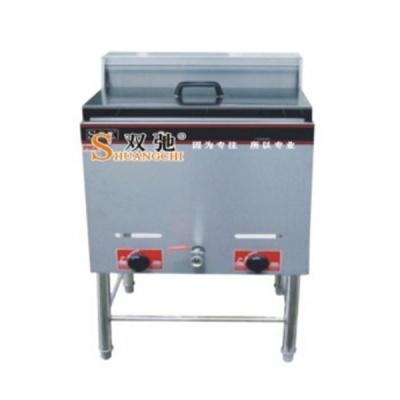 立式燃气单缸双筛炸炉