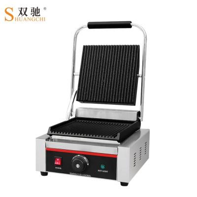 电热单双压板扒炉