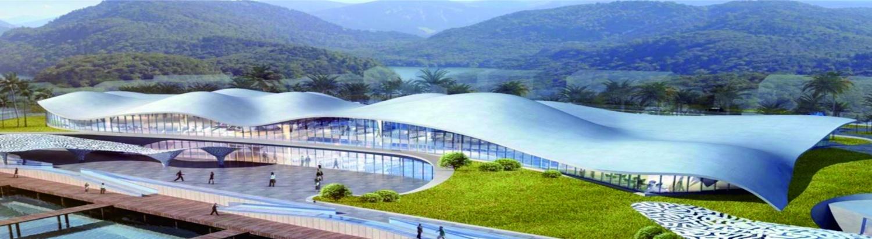 肖旗港片區游客中心